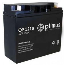 Аккумуляторная батарея Optimus OP 12-18
