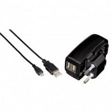 Зарядное устройство USB для Blackberry Playbook/Apple iPad/iPad2 и других, 100-240В, 50-60Гц, черный