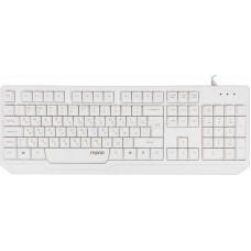 Клавиатура Rapoo N2210 белый USB 2.0